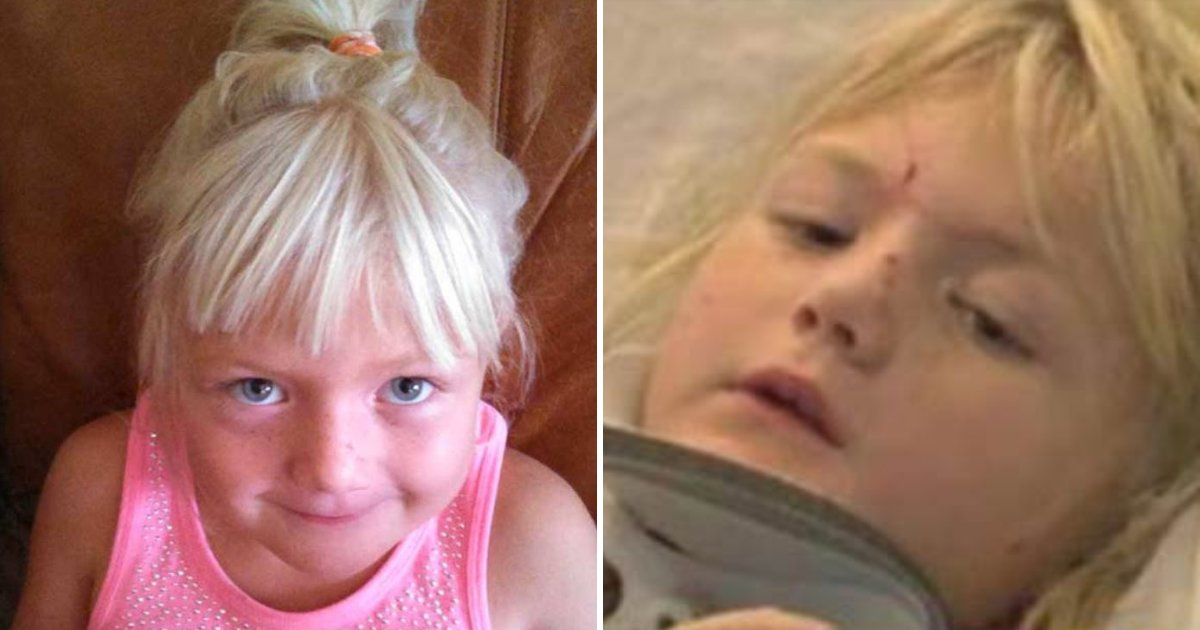 samantha6.png?resize=1200,630 - 6-Year-Old Nearly Sliced In Half, Parents Urge Others Not To Make the Same Mistake