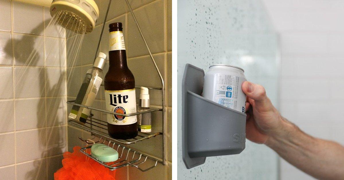 shower beer holder.png?resize=412,275 - Shower Beer Holder Is Your Perfect Partner For A Happy Shower Time