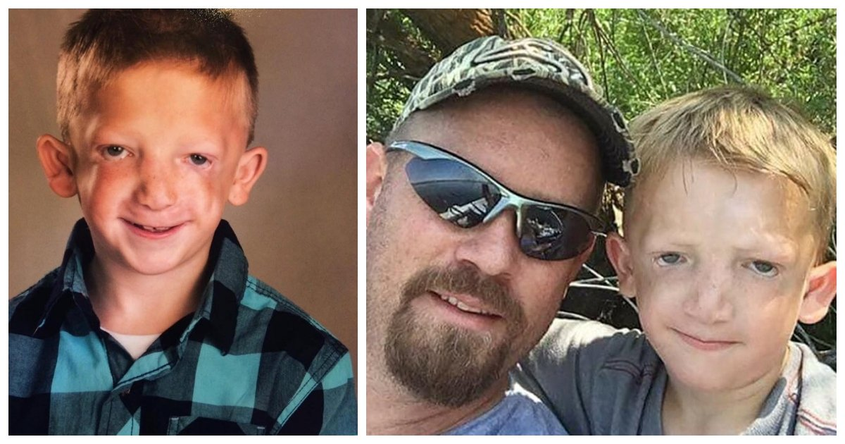 """son.jpg?resize=300,169 - Father Makes Heartfelt Facebook Post About The Bullies Who Called His 7-Year-Old Son A """"Monster"""""""