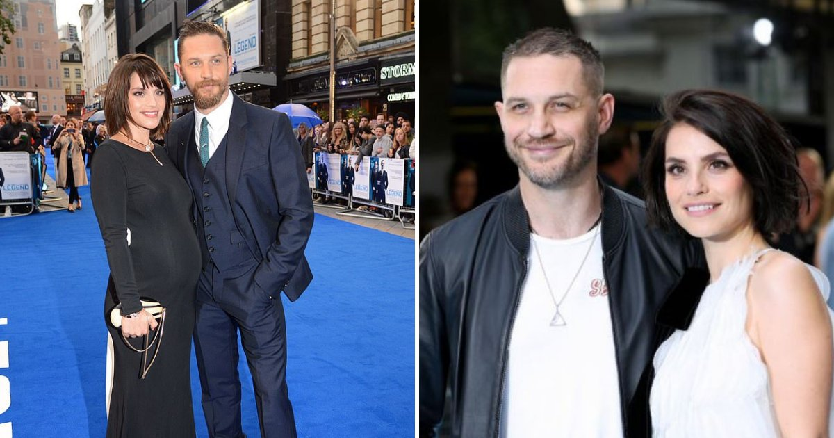 tom5.png?resize=412,232 - Venom Star Tom Hardy and Wife Charlotte Riley Welcome Their Second Baby