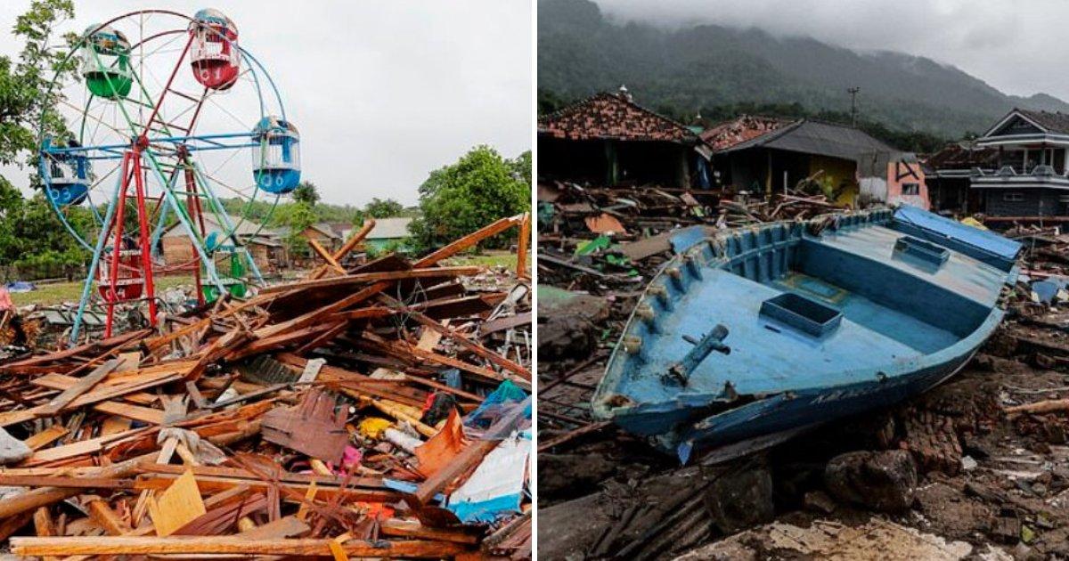 tsunami6.png?resize=300,169 - Le père devait choisir entre sauver sa femme ou sa mère et son bébé, leur maison étant détruite pendant le tsunami