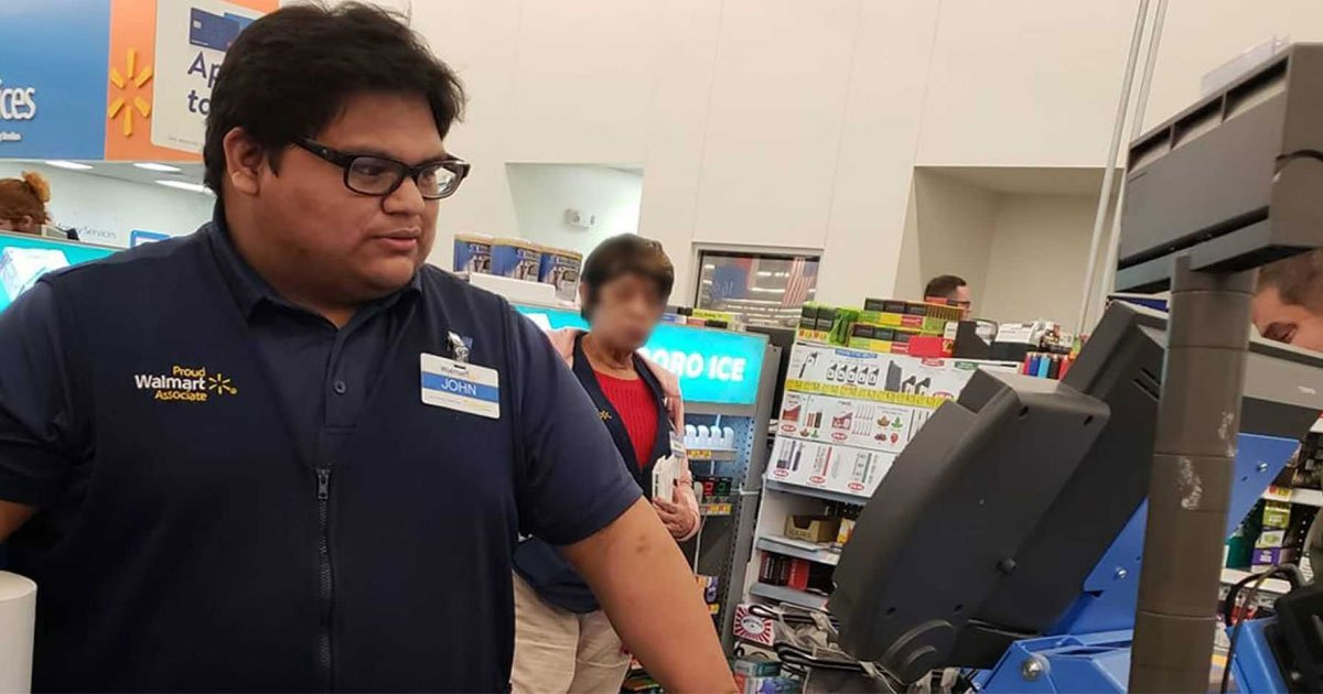 untitled 1 22.jpg?resize=412,232 - Community Raises $35K For Walmart Cashier For An Act Of Kindness
