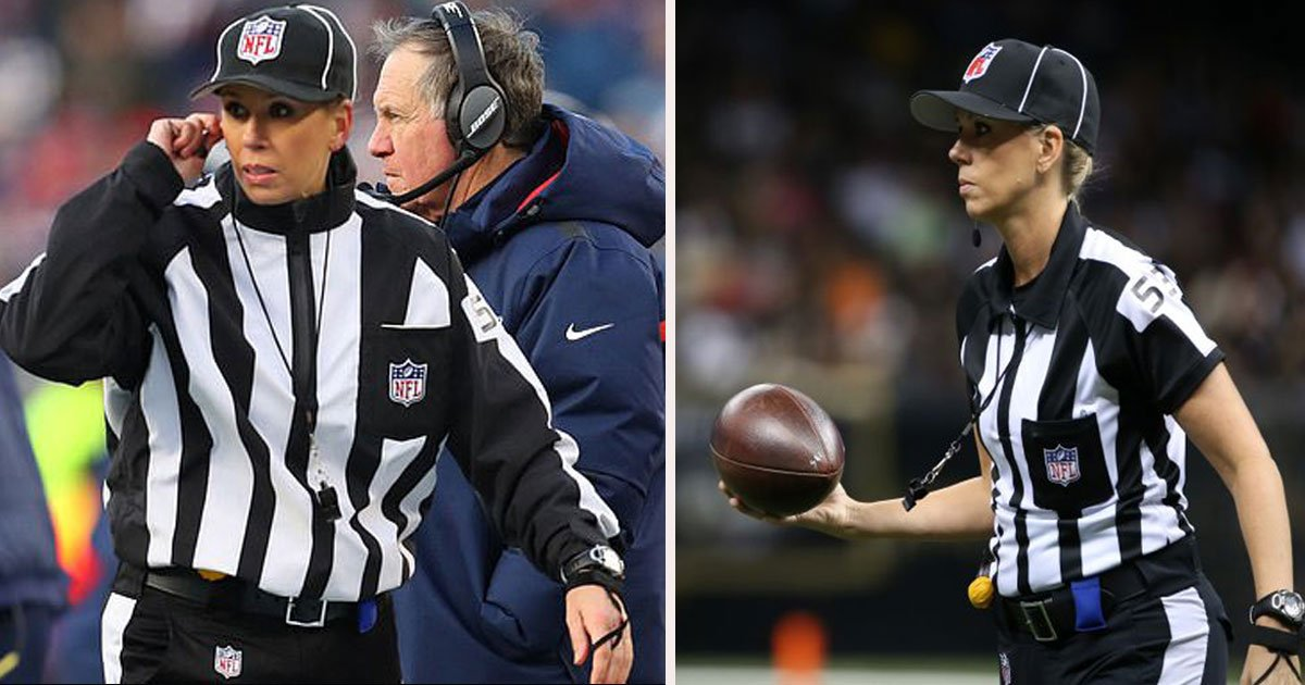 untitled 1 25.jpg?resize=412,232 - Sarah Thomas Has Made History Again - The First Woman To Officiate An NFL Playoff Game