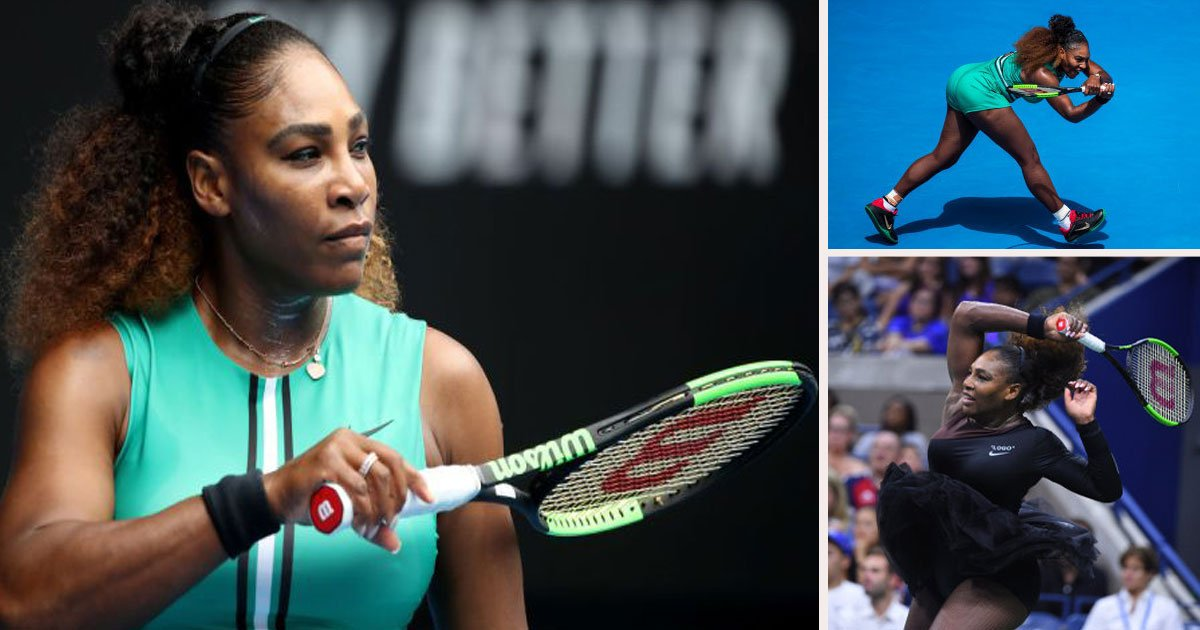 untitled 1 28.jpg?resize=412,232 - Serena Williams Explains Powerful Statement Behind 'Serena-Tard' After Australian Open Win