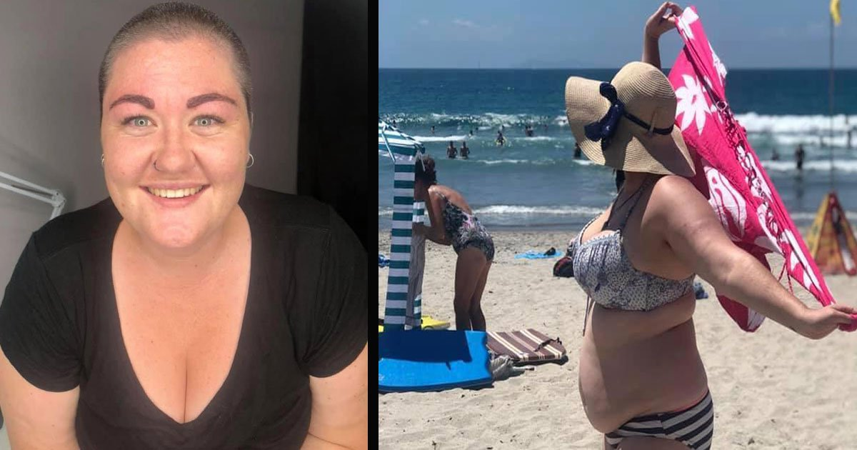 untitled 1 32.jpg?resize=412,275 - Woman Hit Back At Her Body Shamers Who 'Pointed And Laughed' At Her When She Took Off Her Sarong At The Beach