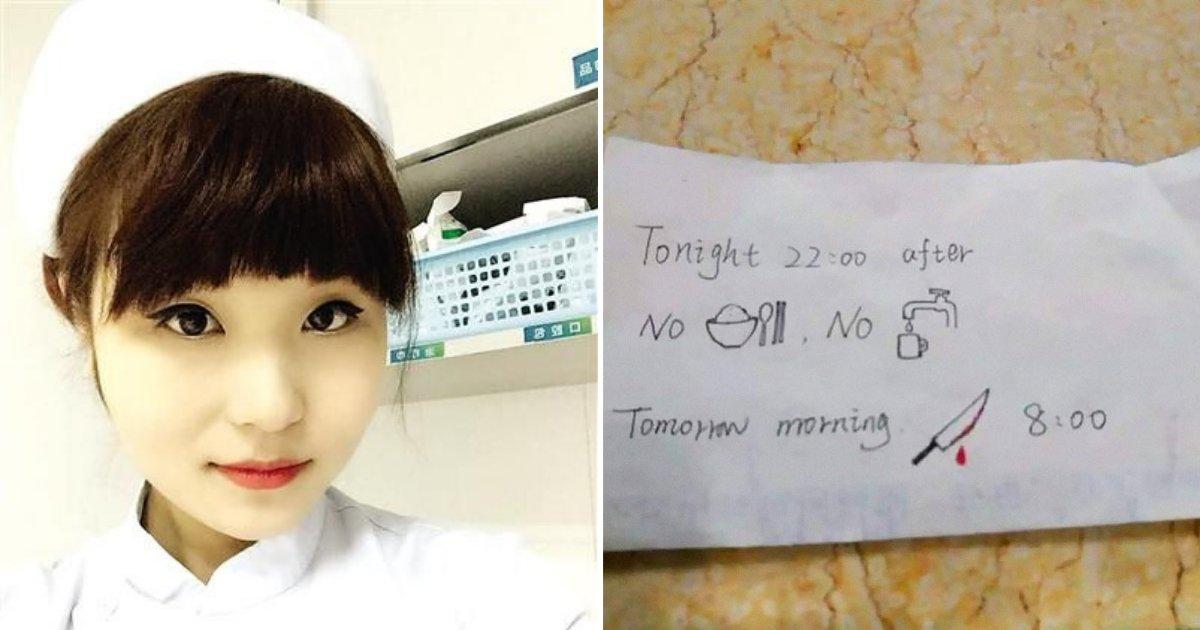 untitled design 59 1.png?resize=412,232 - Une infirmière qui ne parle pas anglais prépare une note hilarante pour un étudiant étranger