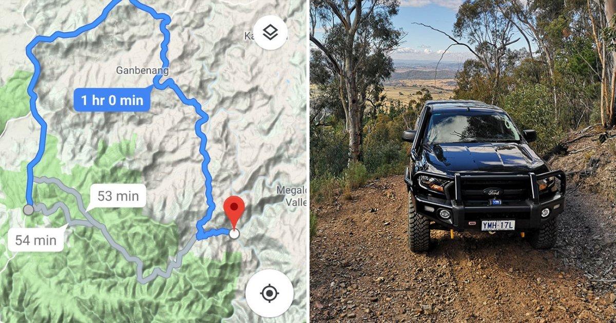"""untitled design 68.png?resize=300,169 - L'homme prend le """"raccourci"""" de Google Maps et finit par avoir le voyage de sa vie"""