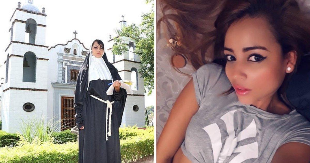 untitled design 71.png?resize=300,169 - Une religieuse en formation quitte le couvent pour devenir une star du X
