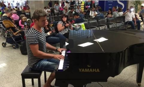 played piano and surprised people
