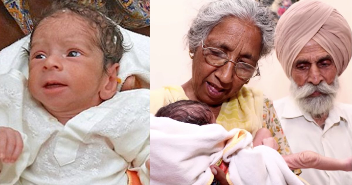 y4 10.png?resize=412,275 - A Woman Gave Birth To Her First Baby At the Age of 72 Making Her the Oldest First-Time Mother In History