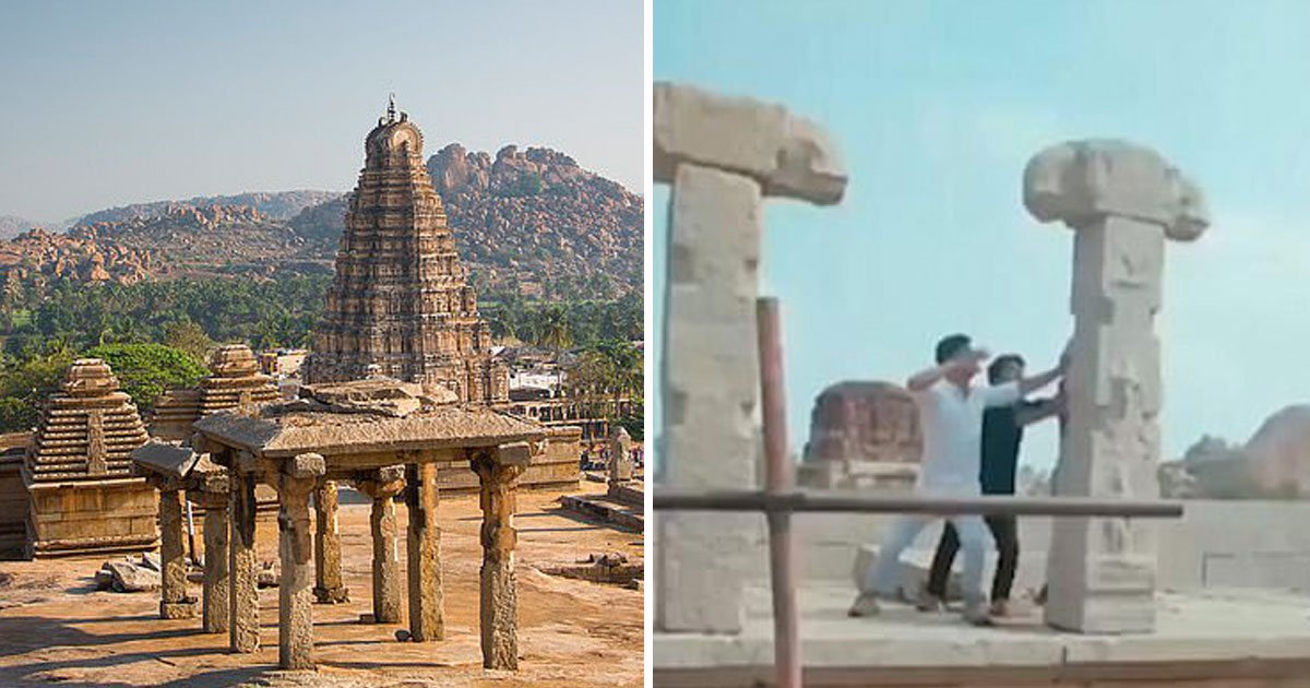 3 men damaged ancient pillars.jpg?resize=1200,630 - Three Men Arrested For Damaging Ancient Pillars At A UNESCO World Heritage Site