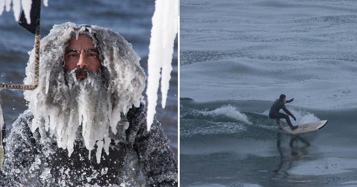 8 4.jpg?resize=412,232 - 영하 34도에 바다에서 서핑을 하면 벌어지는 일.jpg