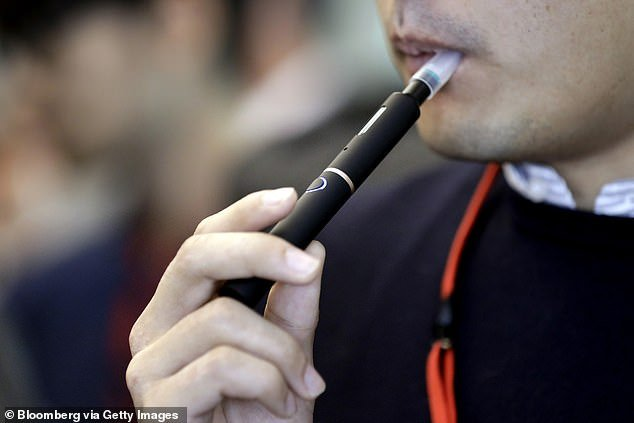 Quit Victoria has demanded the Federal Government get serious of cracking down on liquid nicotine in Australia (file photo)