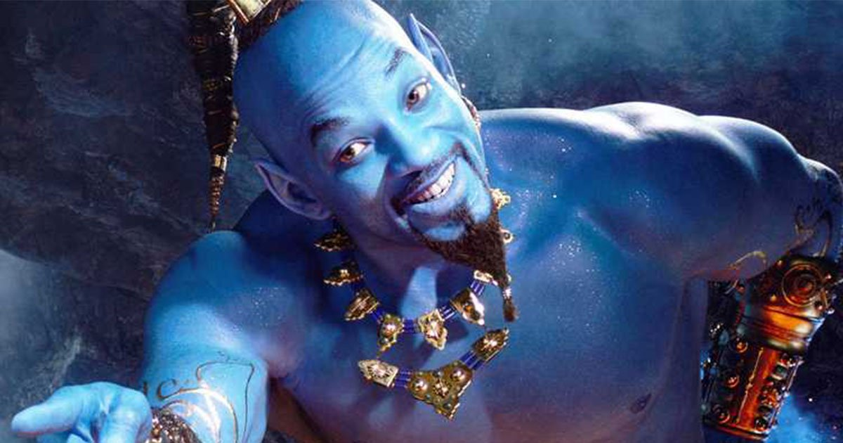 aladdin movie trailer is out and social media users are not pleased with will smiths genie look.jpg?resize=300,169 - 'Aladdin' Movie Trailer Is Out And Social Media Users Are Not Pleased With Will Smith's Genie Look