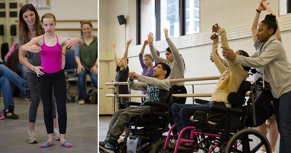 ballet for disabled children.jpg?resize=300,169 - Les ateliers du ballet de New York City pour les enfants handicapés améliorent leur estime de soi