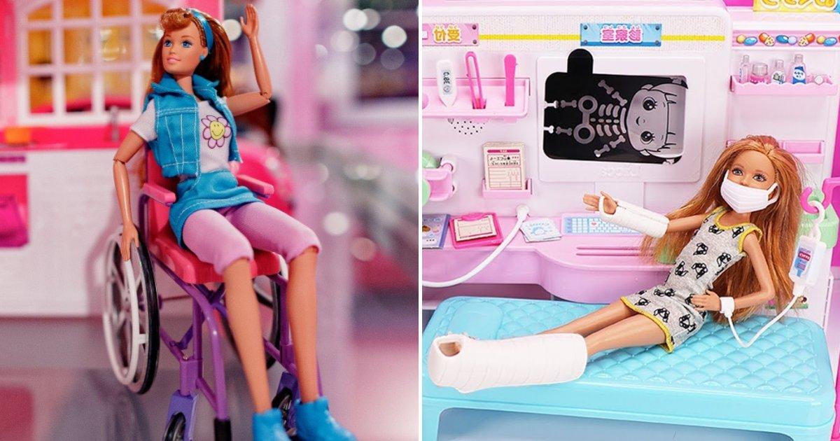 barbies.png?resize=412,232 - Barbie présente de nouvelles poupées avec membres prothétiques et un fauteuil roulant
