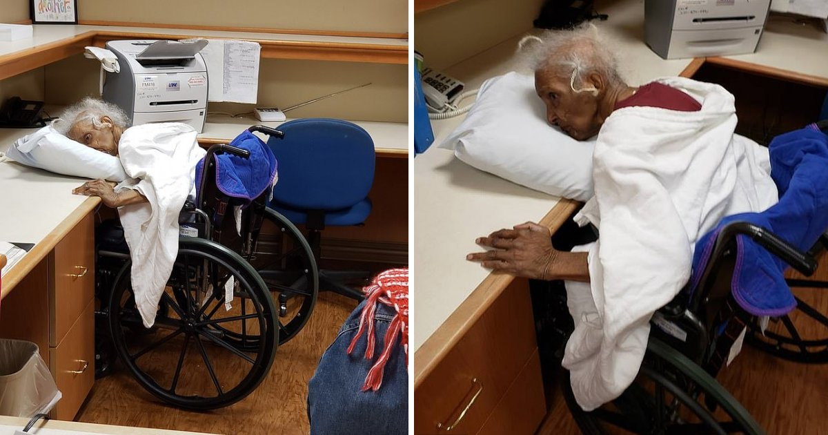 d1 16.png?resize=1200,630 - The Photos of an 80-Year-Old Have Sparked Outrage at a Nursing Home as She was Left Gasping for Breath