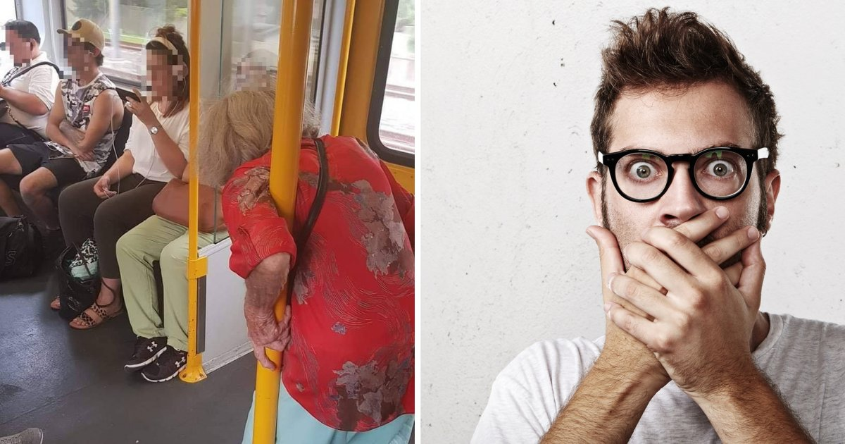 d2 7.png?resize=1200,630 - Internet is Going Red with Outrage as the Picture of Elderly Woman Standing in the Train Goes Viral