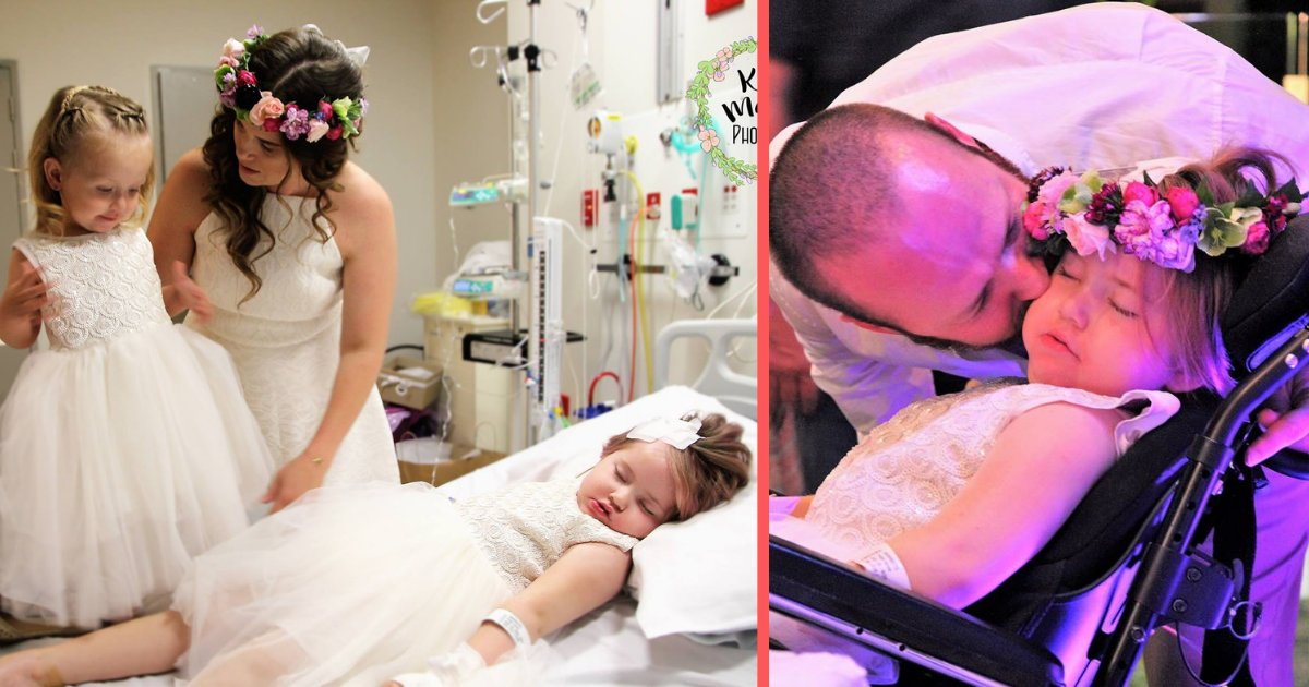d5 8.png?resize=412,275 - Parents Hosted Their Wedding At The Hospital Because Their Daughter Was Slowly Passing Away