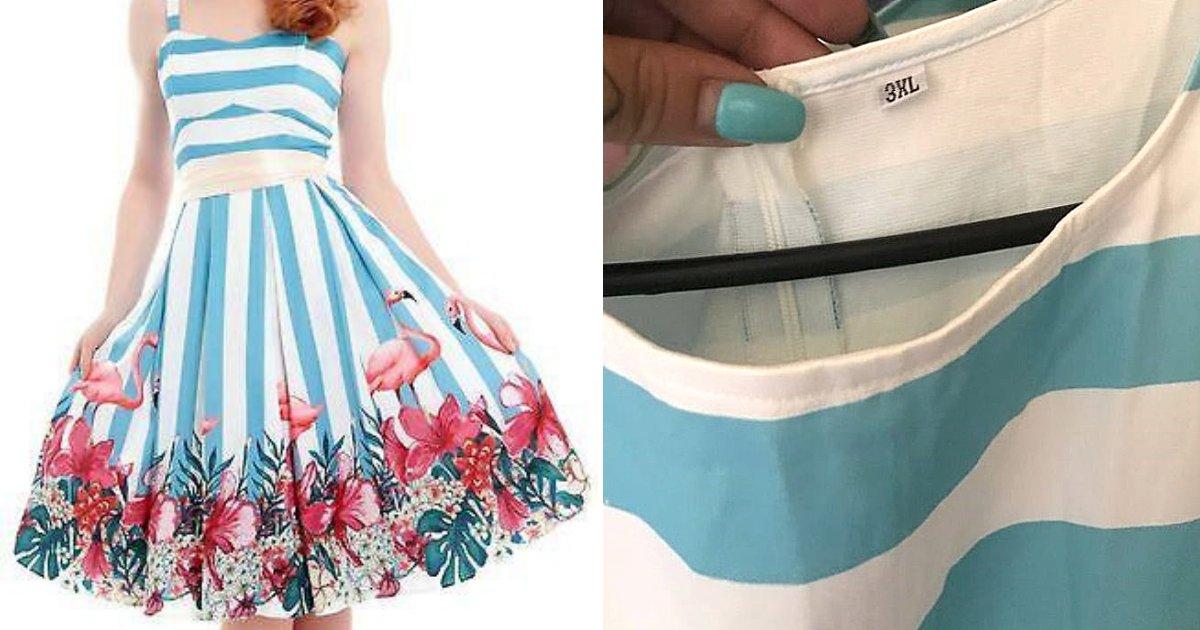 dress4.png?resize=412,232 - Une femme commande une robe sur internet et son colis ne contient pas vraiment ce qu'elle attendait !