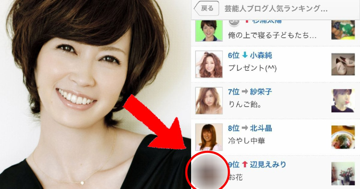 e696b0e5bbbae9a1b9e79bae 1 1.png?resize=1200,630 - 辺見えみりのブログが大変!!!一体何があった?