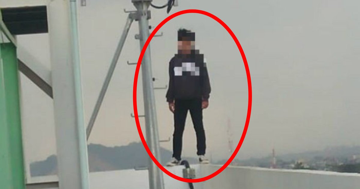 e696b0e5bbbae9a1b9e79bae 26 2.png?resize=1200,630 - 「早く飛び降りろ!」屋上に立つ男性を見た市民たちがスマホを取り出した理由に驚愕…!!