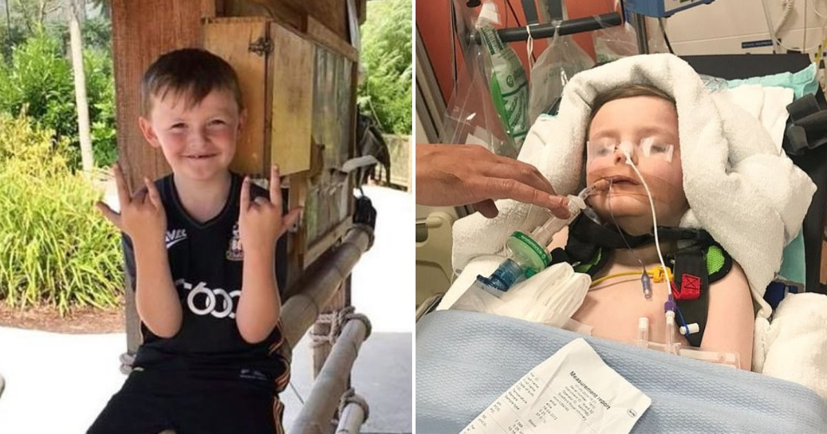ellis6.png?resize=412,232 - 6-Year-Old Boy Left In Coma After 'Headache and Vomiting' Turned Out To Be A Rare Condition