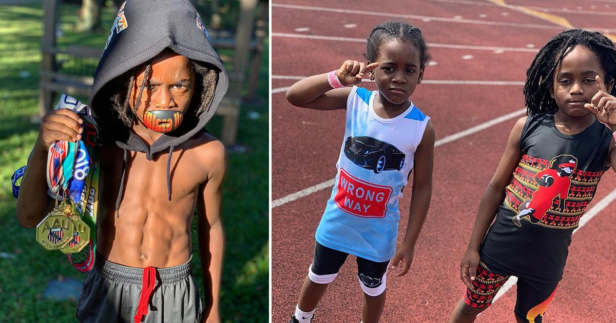 fatest boy.jpg?resize=366,290 - Meet The Fastest Seven-Year-Old In The World Who Sprinted 100 Meters In 13.48 Seconds