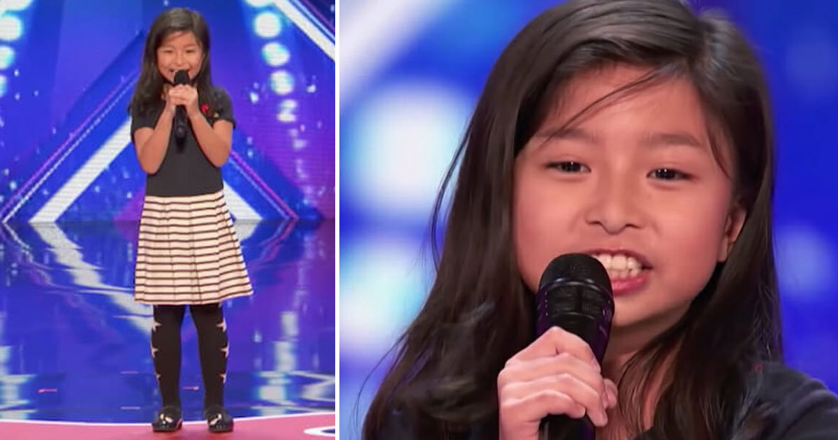 girl sings celine dion.jpg?resize=412,232 - 9-Year-Old Leaves Everyone Stunned As She Sings Celine Dion Classic