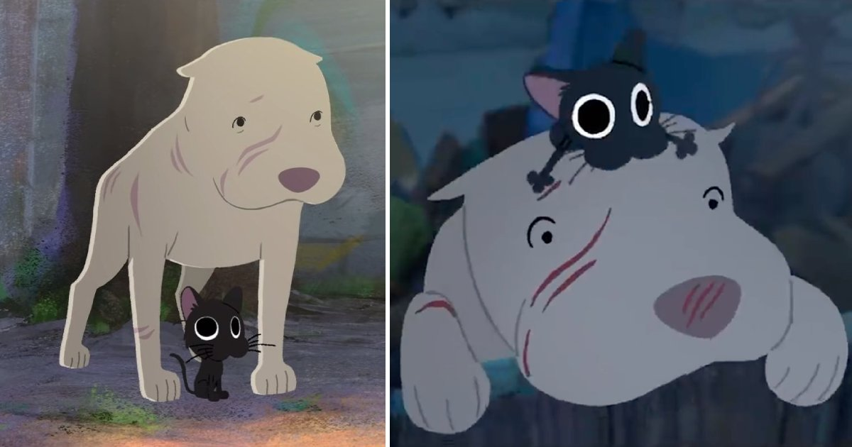 kitbull.png?resize=412,232 - Pixar's New Animation 'Kitbull' Make People Cry With Its Touching Message