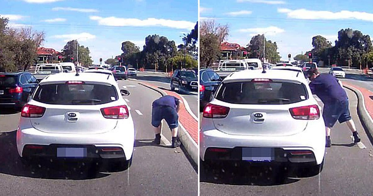 man throws litter back.jpg?resize=1200,630 - Woman Throws A Cigarette Butt Out Of Her Car - Angry Motorist Throws The Litter Back Into Her Car