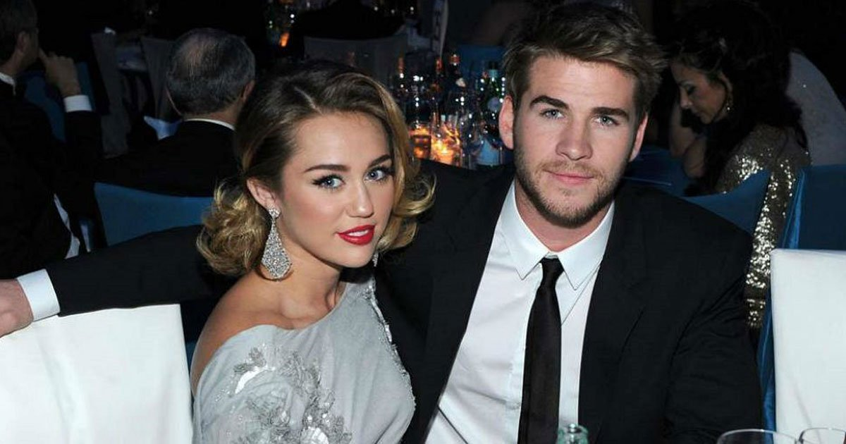 miley and liam.jpg?resize=1200,630 - Miley Cyrus Takes Husband Liam Hemsworth's Last Name