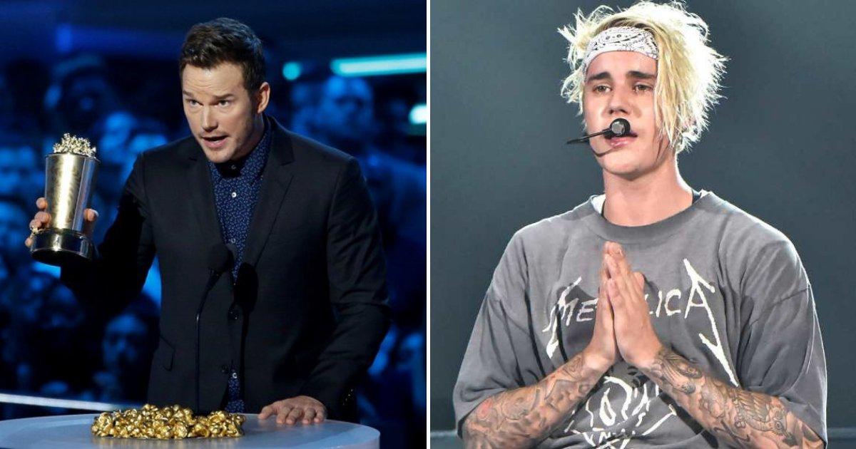 pratt4.png?resize=300,169 - Chris Pratt, Justin Bieber et d'autres célébrités d'Hollywood parlent de leurs croyances religieuses