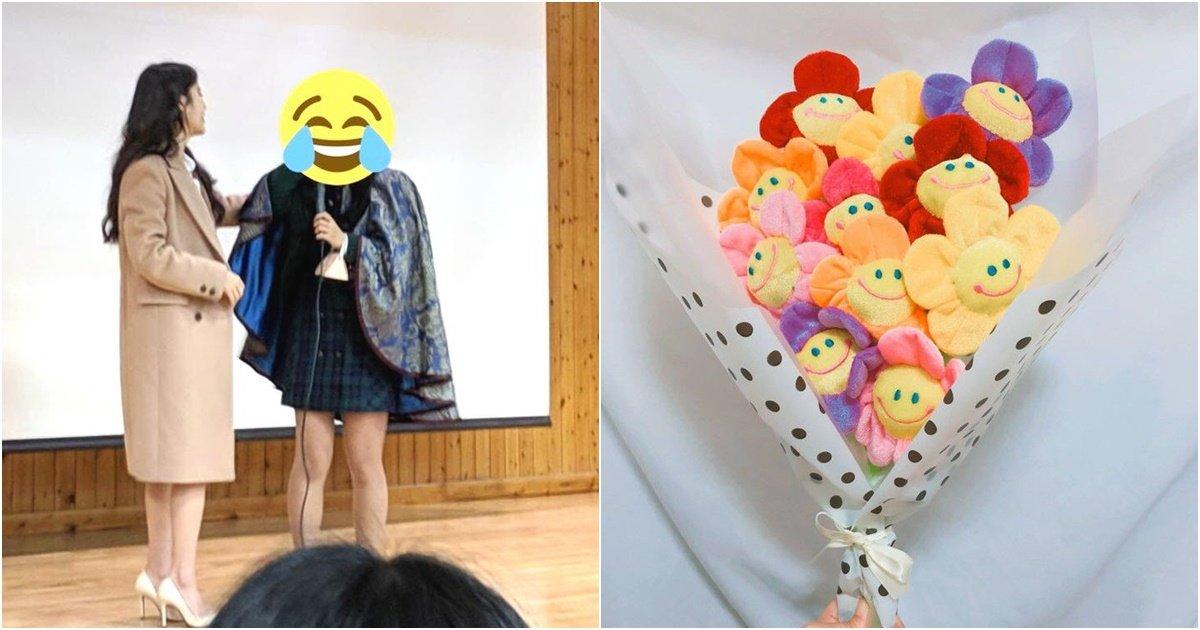 s 18.jpg?resize=412,232 - 요즘 졸업식에서 인기 장난아니라는 '인싸' 꽃다발