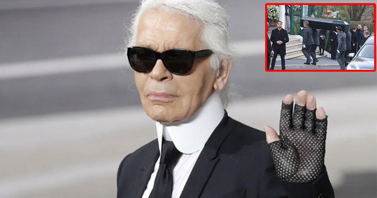 the fashion community attended cremation of lagerfeld in nanterre.jpg?resize=412,232 - La communauté de la mode a assisté à la cérémonie funéraire de Karl Lagerfeld