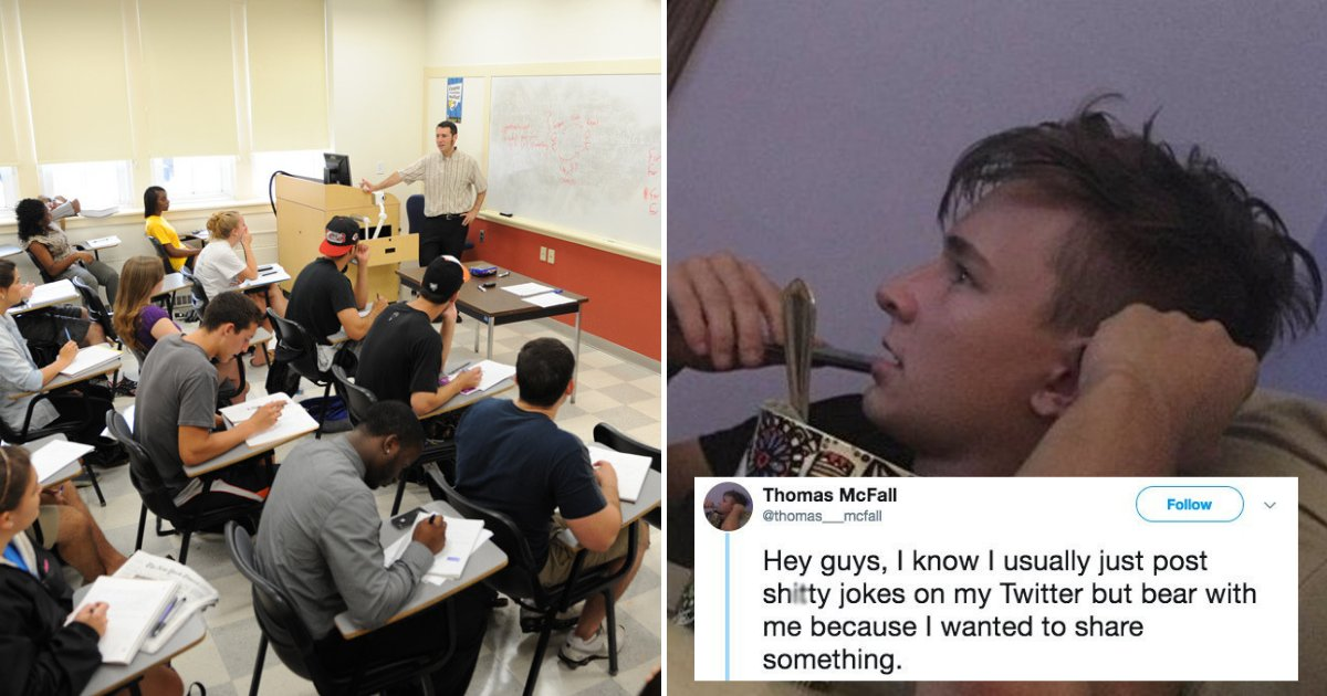 thomas.png?resize=412,232 - Guy Fed Up With Immigrant Classmate Who Could Barely Speak English Left In Tears After An Incident In Class