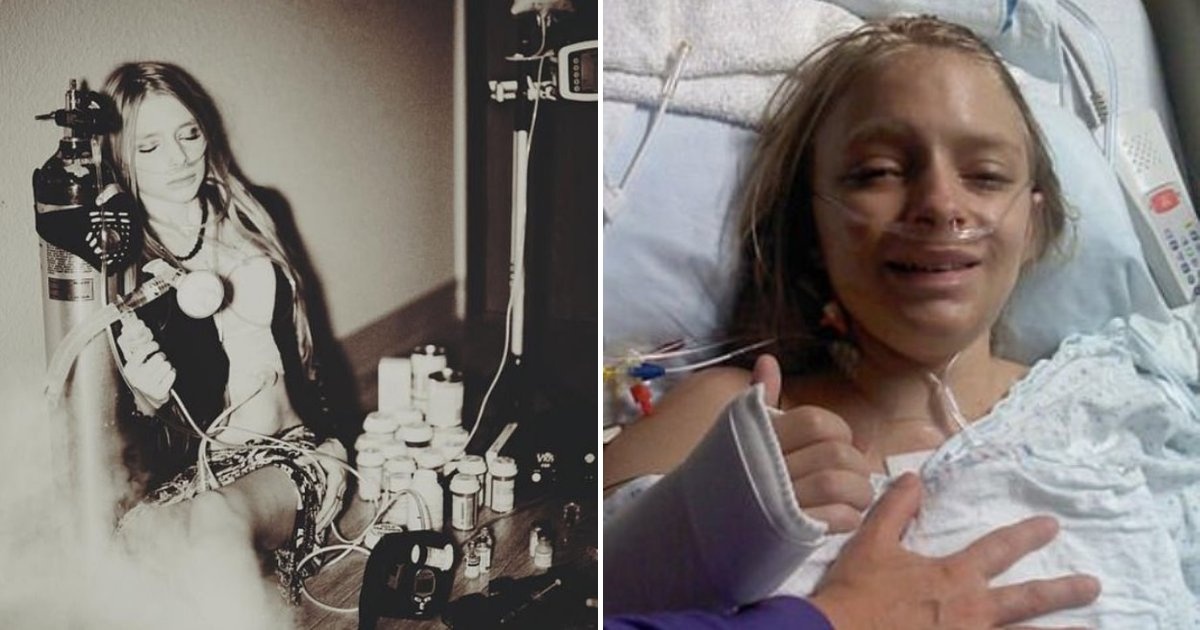 tiffany6.png?resize=1200,630 - 25-Year-Old Woman Suffering From Cystic Fibrosis Is On Her FINAL Set Of Lungs