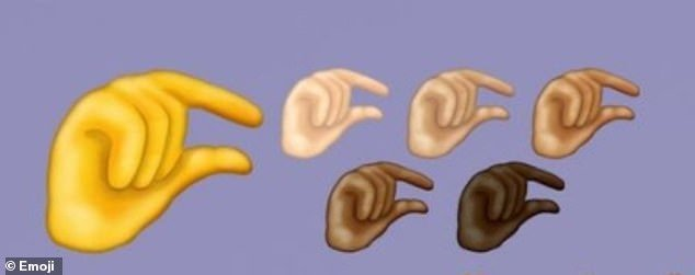 A new emoji being rolled out this year will depict a hand doing a pinching motion to depict a
