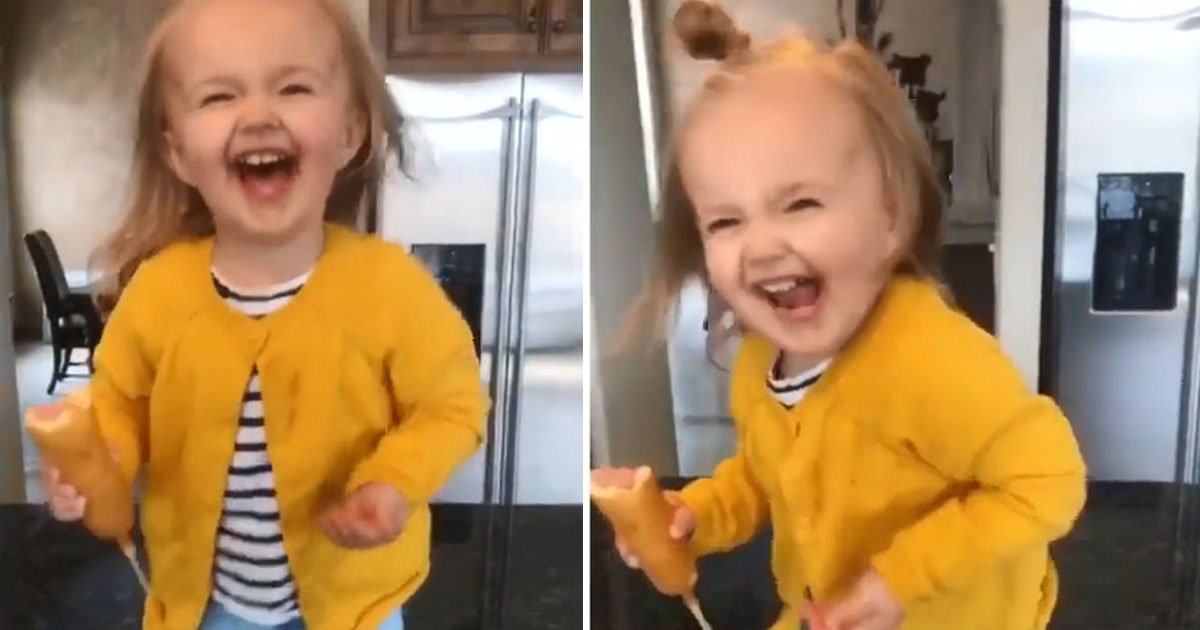 toddler dances.jpg?resize=412,232 - Adorable Toddler Dances To Beyoncé's Crazy In Love And Becomes The Internet Sensation
