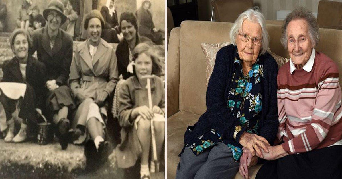 untitled 1 55.jpg?resize=300,169 - Les meilleures amies d'enfance, aujourd'hui âgées de 91 et 89 ans, se reconnaissent quand elles se revoient pour la première fois en 70 ans
