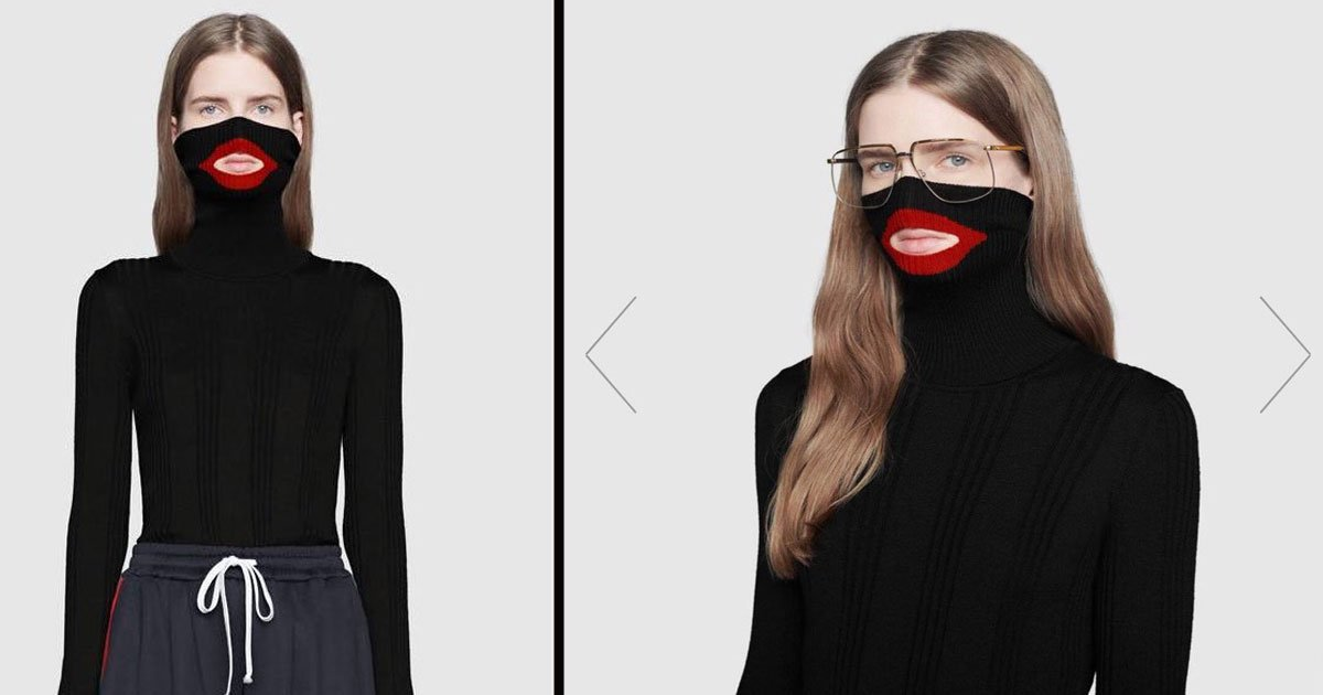 untitled 1 8.jpg?resize=300,169 - Gucci Apologizes For Sweater Resembling Blackface - Stops Selling Balaclava Jumper