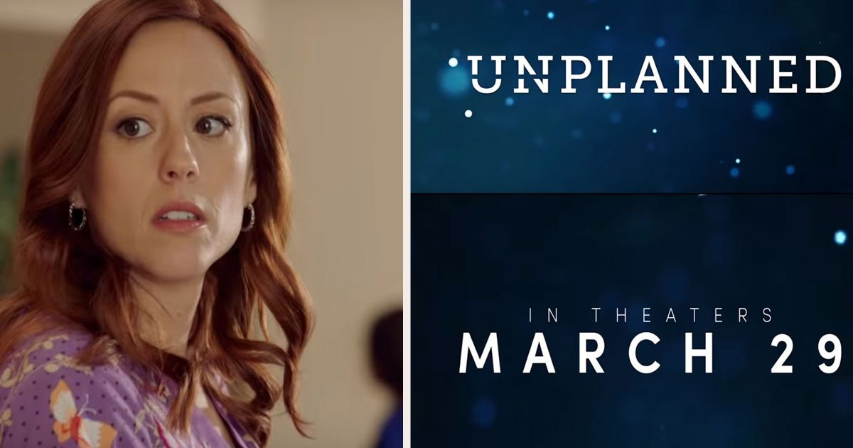 "untitled 1.jpg?resize=1200,630 - The Trailer Of The Highly-Anticipated Pro-Life Film ""Unplanned"" Released Now - The True Story Of Abby Johnson"