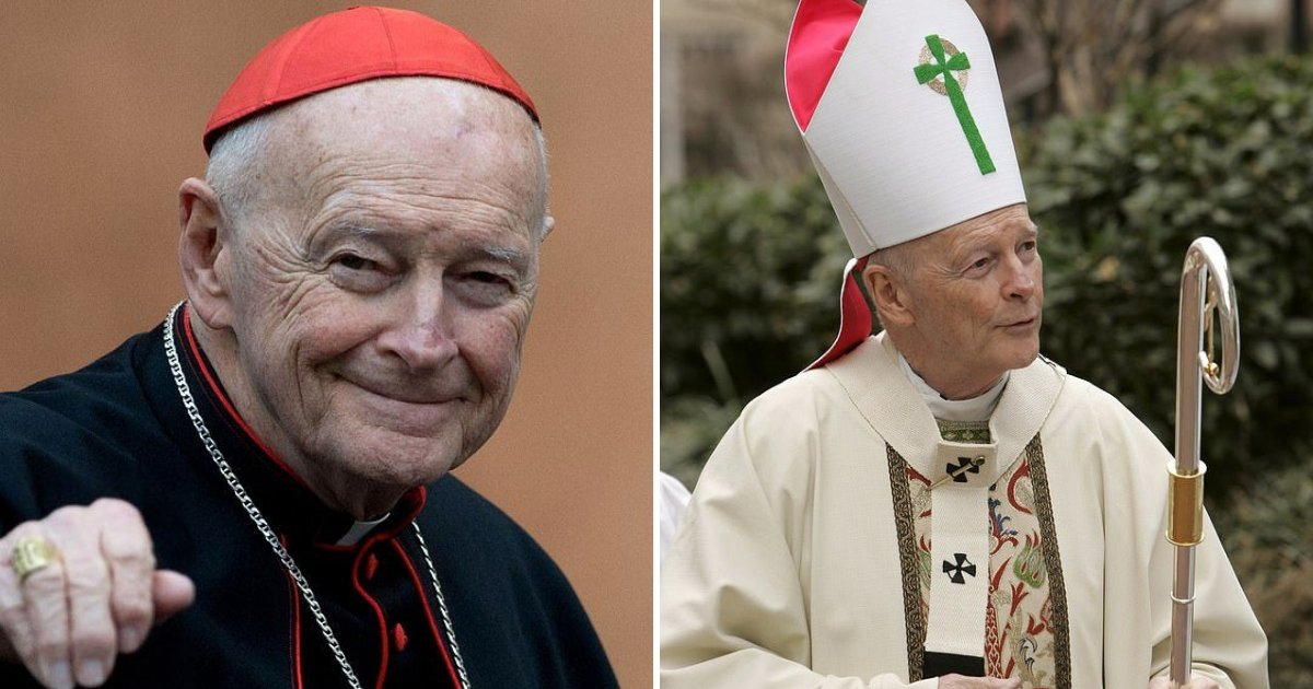 untitled design 29.png?resize=412,232 - Top Cardinal Theodore McCarrick Found Guilty Of Solicitation Of Minors