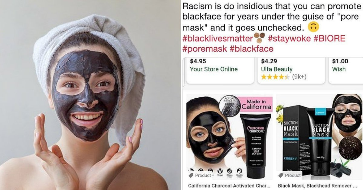 untitled design 41.png?resize=1200,630 - Social Media Users Protest Against Charcoal Face Masks Saying They Are Racist