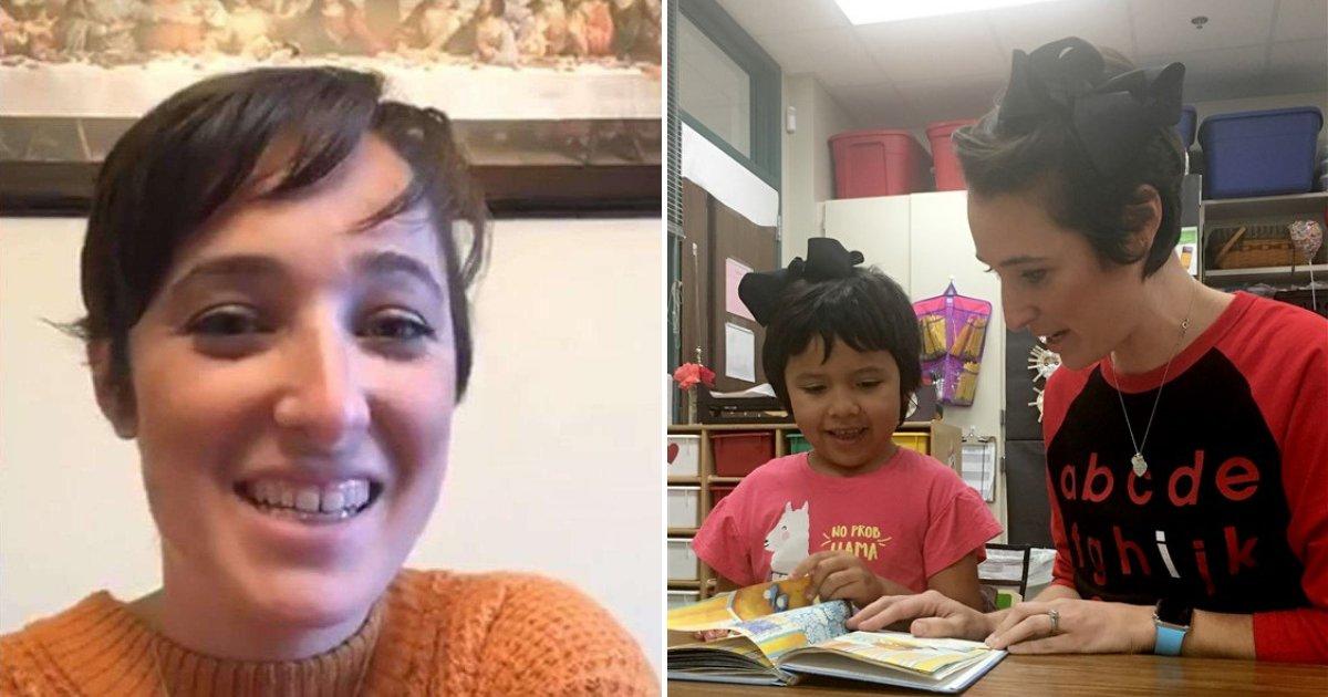untitled design 44.png?resize=412,232 - Une enseignante coupe ses cheveux courts pour correspondre au style d'une fille de 5 ans victime d'intimidation