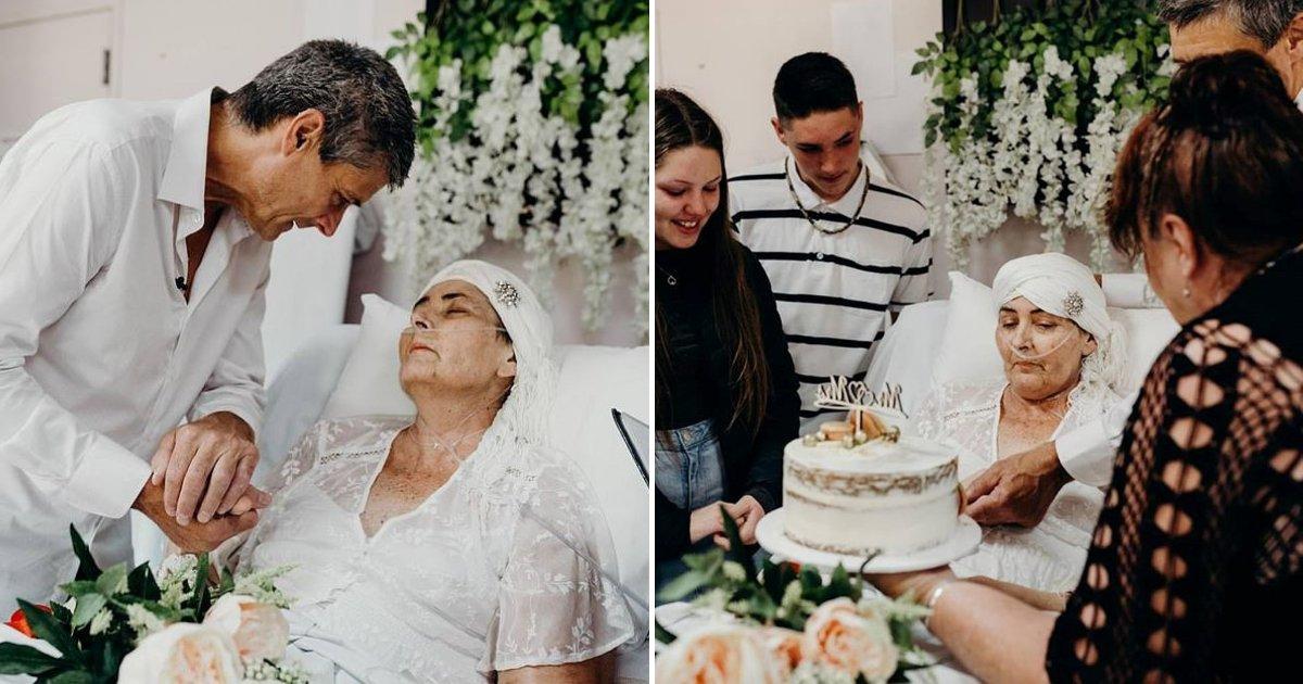 untitled design 53.png?resize=412,232 - Le dernier souhait d'une femme devient réalité alors qu'elle épouse l'amour de sa vie au milieu d'une bataille contre le cancer