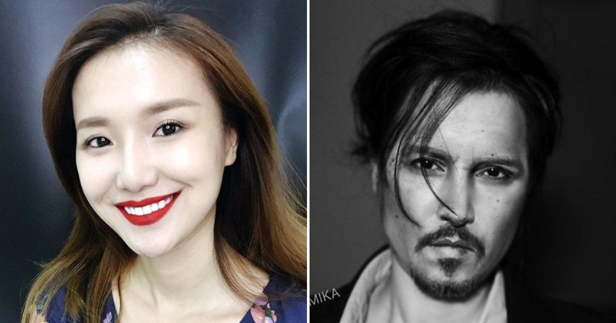 untitled design 69 1.png?resize=412,232 - Une maquilleuse se transforme en Johnny Depp et surprend ses fans