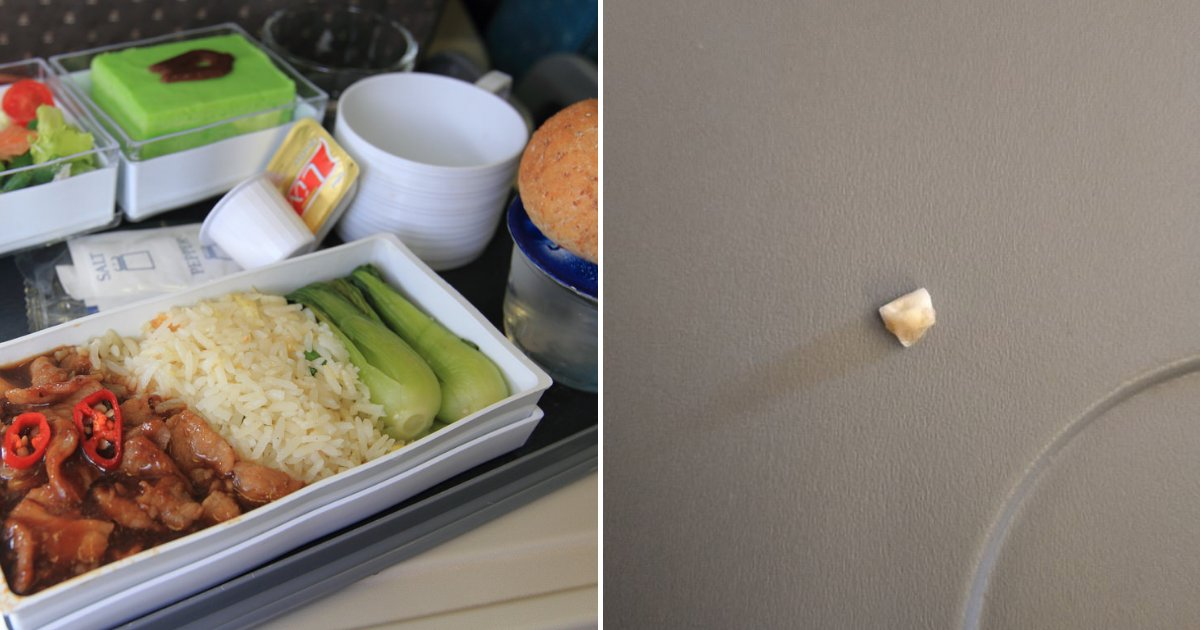 untitled design 78 1.png?resize=412,232 - Plane Passenger Claimed He Found A Tooth While Eating His In-Flight Meal