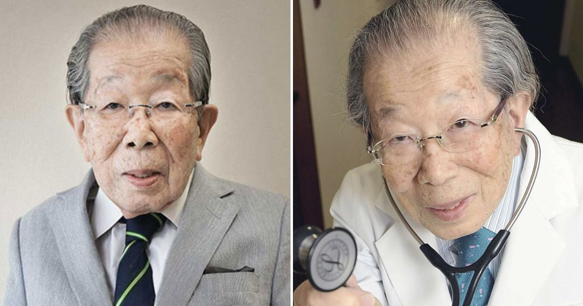 untitled design 89.png?resize=412,232 - 105-Year-Old Doctor Shares Several Tips That Helped Him Achieve Long Life