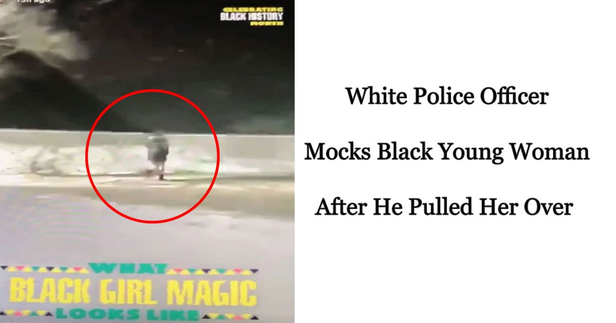 white racist officer black woman.jpg?resize=1200,630 - Detroit Police Officer Shares Snapchat Video Of A Woman In Freezing Weather